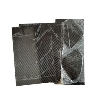 High quality china manufacture 1mm custom size carbon fiber plate fibre baords