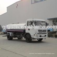 Unidad 4X2 Camión de agua Shacman / camión cisterna de agua / camión de pulverización de agua / carro de agua / navegador de agua / camión de riego con un volumen de 3-15CBM