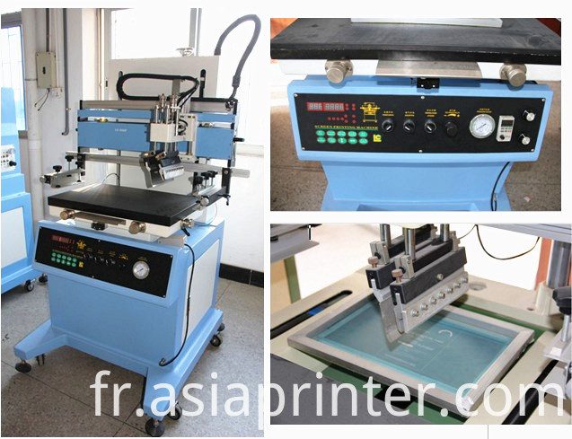 Plane Screen Printer for Ruler and Control Panel