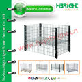 stackable storage wire mesh display