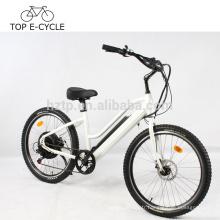 Green Power e vélo 2017 vente chaude ebike électrique plage cruiser vélo 500 W vélo électrique
