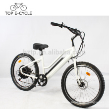 Green Power e bike 2017 hot selling ebike electric beach cruiser bicycle 500W electric bike