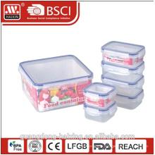 boîte à lunch hamburger carré forme alimentaire emballage de vente chaud