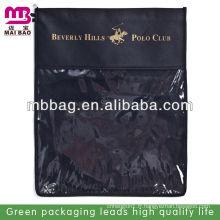 sac de bijoux en lin noir pas cher