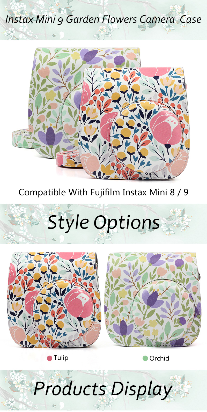 Orchid Instax Mini 9 Case