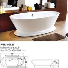 Baignoires sur piédestal et baignoires autoportantes Wtm-02826