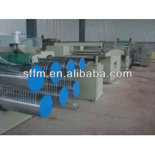 netted plastic film wire drawing machine