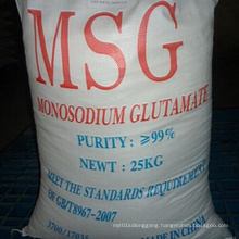 Lowest Price Monosodium Glutamate 99% with High Quality