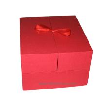 Papel de lujo fuerte caja de embalaje de papel para la ropa de zapatos de regalo