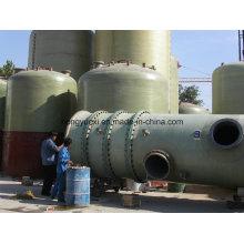 Réservoirs en fibre de verre adaptés à divers environnements corrosifs