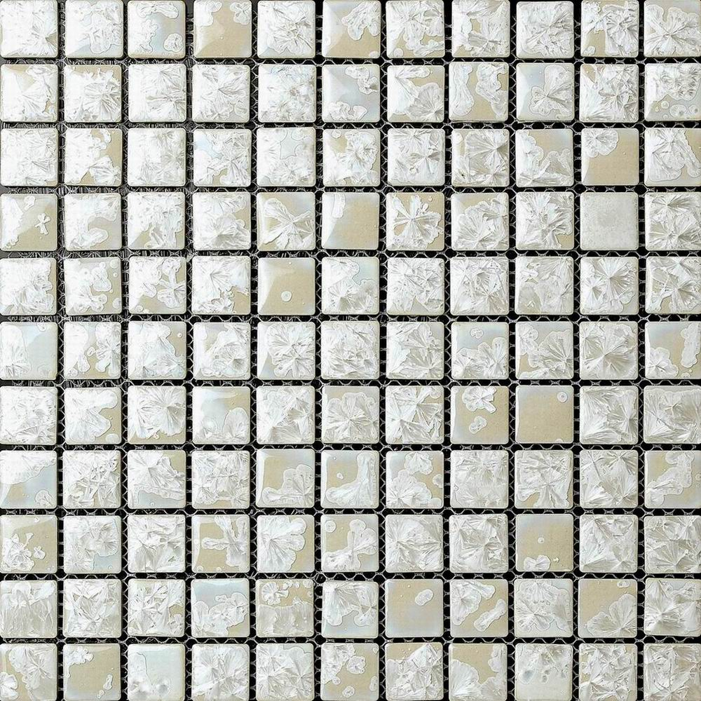 White Glazed Transforming Mosaic