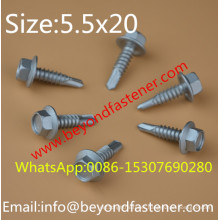 Self Drilling Screw Roofing Screw Tek Screw Ruspert Screw