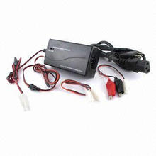Smart Universal NiMH/NiCD Battery Pack Charger with 2.4 to 7.2V Voltage