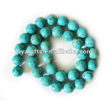 12MM Turquoise Round stone Beads
