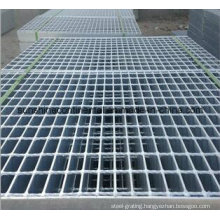Hot Dipped Galvanized Serrated or Plain Platform Steel Grating