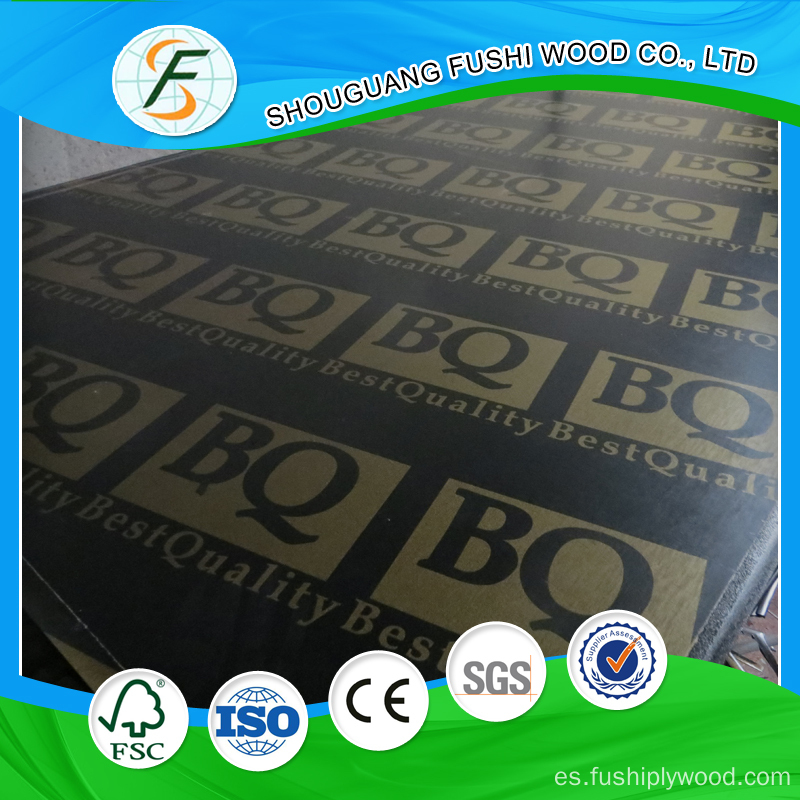 WBP Waterproof Black Film Faced Plywood