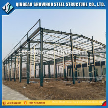 Prefabricated Metal Frame Roof Construction Light Steel Structures