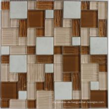 Marmor Stein Mosaik für Wand / Wasser Madellion Boden Dekoration