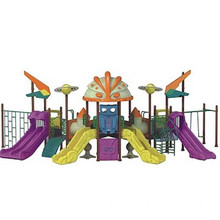 Jungle Adventure Series Children Outdoor Playground with GS TUV Certificate, CE (CT-001)