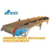factory customized stainless steel slat plate chain conveyor double chain belt conveyor machine