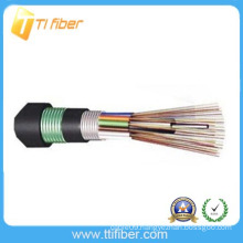 Outdoor underground Loose Tube Armored Cable GYTA53