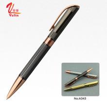Pluma de lujo del papel de escritorio de la pluma de bola del grabado del laser de la manera en venta