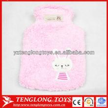 Cubierta de encargo segura caliente caliente suave del bolso de agua caliente del nuevo diseño