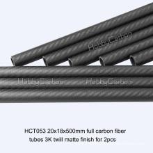 20x18x500mm из углеродного волокна для RC игрушки