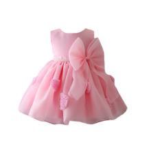 Sleeveless Baby-Sommerkleid des neuesten Ankunftsrosas 2018 für 3 Einjahres