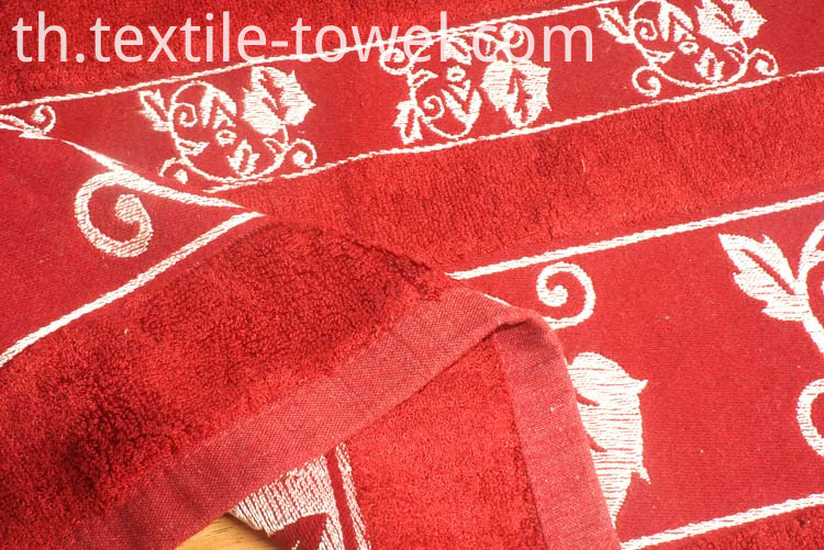 Towels With Jacquard Border