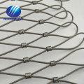 aviary rope mesh stainless steel rope mesh animal rope mesh netting