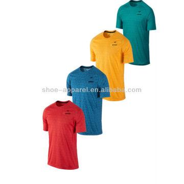 Camisas running do conforto 2014 leve dos homens, desgaste running