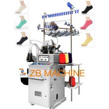 máquina de confecção de malhas lisa automática da peúga 3.5