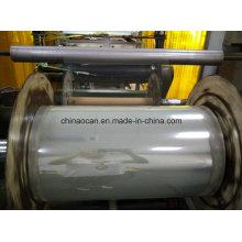 Rouleau rigide clair de film de PVC de vente chaude de largeur de 1370mm pour la boîte se pliante