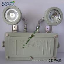 Luz nova à prova de explosão, lâmpada de emergência à prova de explosão LED