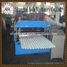 Máquina formadora de rolos de aço de cor ondulada (AF-C820)