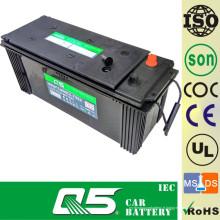 12V120AH, batterie de voiture de moins d'entretien, batterie à faible entretien