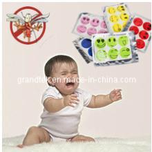 Autocollant adapté aux besoins du client de moustique d'emballage naturel pour le bébé / enfants