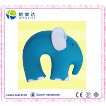 Blue Elephant Shaped U Shape Pillow