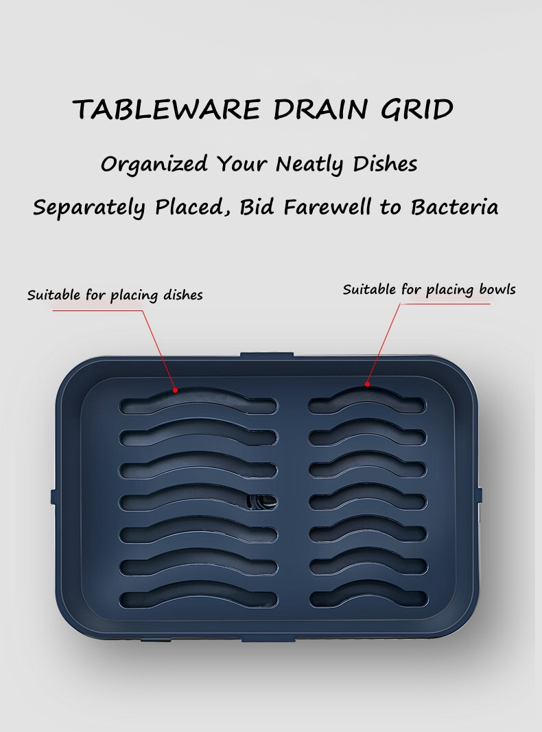 small expandable dish drying rack