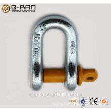 Rigging Factory Price Drop Forged D Shackle, D-shackle