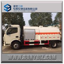 5500L Rhd LHD Mini camión cisterna de GLP con dispensador de GLP
