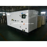 Industiral Soundproof Cummins Diesel Generator Set 24v Dc Start , Oem
