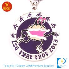 Wholesale High Quality Custom Enamel Gymanatic Medal
