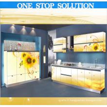 Cabinet de cuisine neuf en forme de L (SM0009)