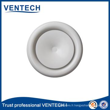 La valve de disque ronde de diffuseur d'air de becs de fer de climatiseur de fer de climatiseur de la CAHT