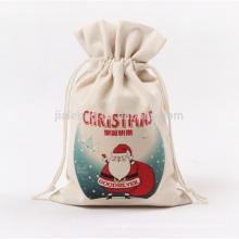 100% China manufacturing custom drawstring promotion Christmas gift bag
