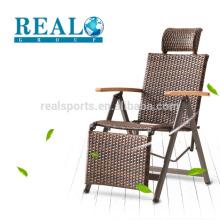 Bamboo Folding Chair Armrest Folding Recliner Chair For Relax