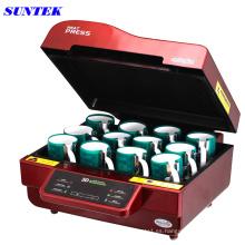 Prensa de la taza de la sublimación del vacío 3D (ST-3042)