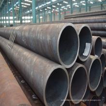 Tubulação sem emenda de aço carbono reta de alta qualidade